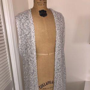 gap open front vest